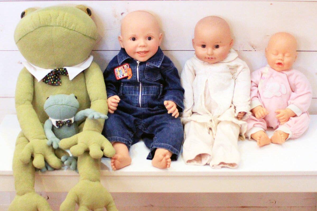赤ちゃんのお人形